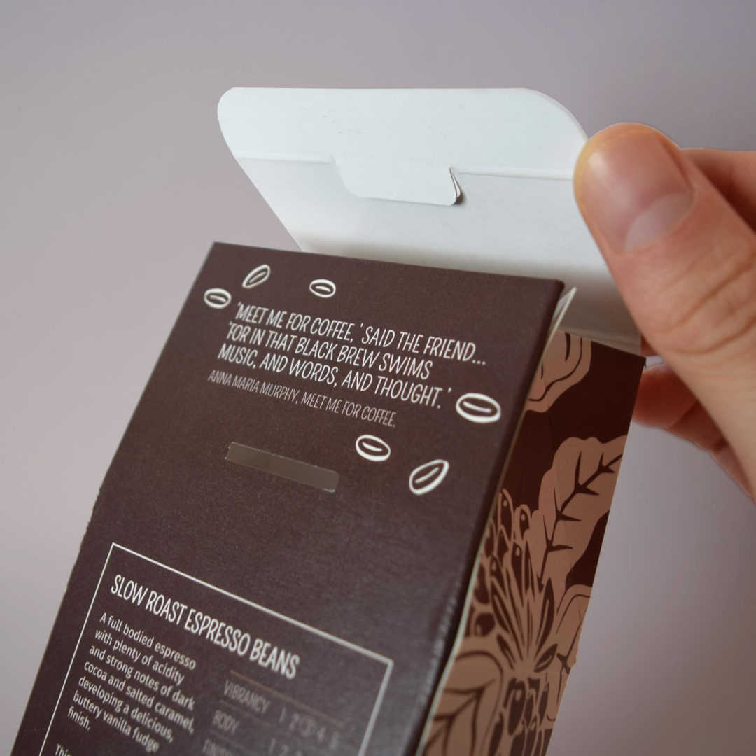 Eden Project coffee packaging