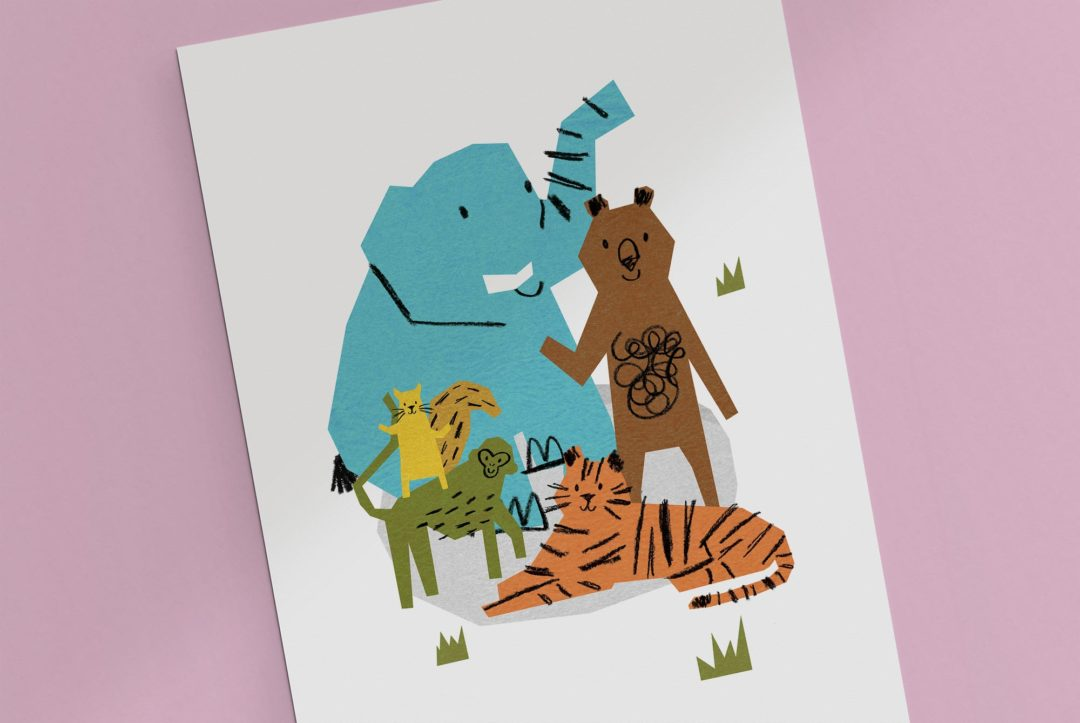 FX Plus Little Wonders nursery illustration and branding