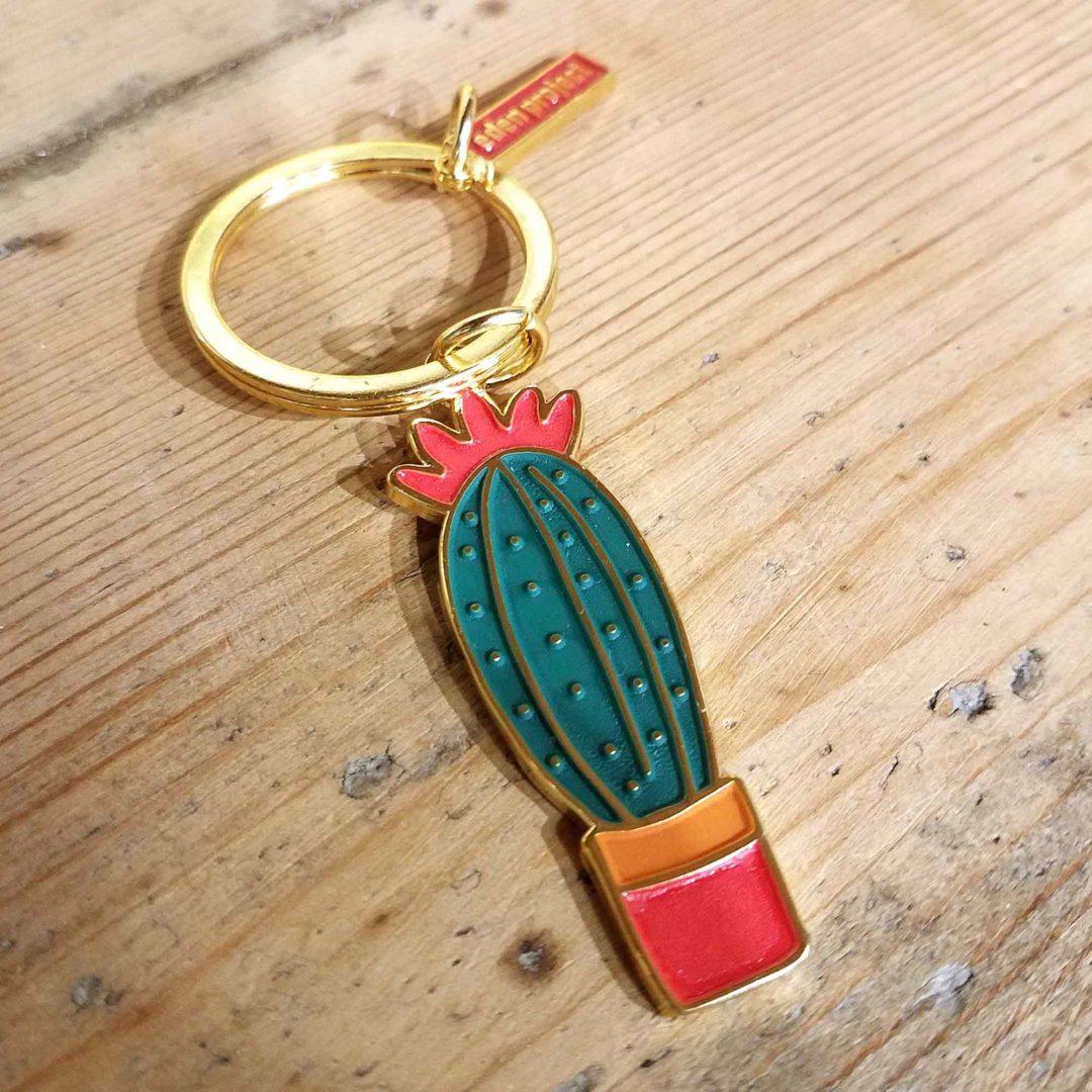 Eden Project cactus keyrings
