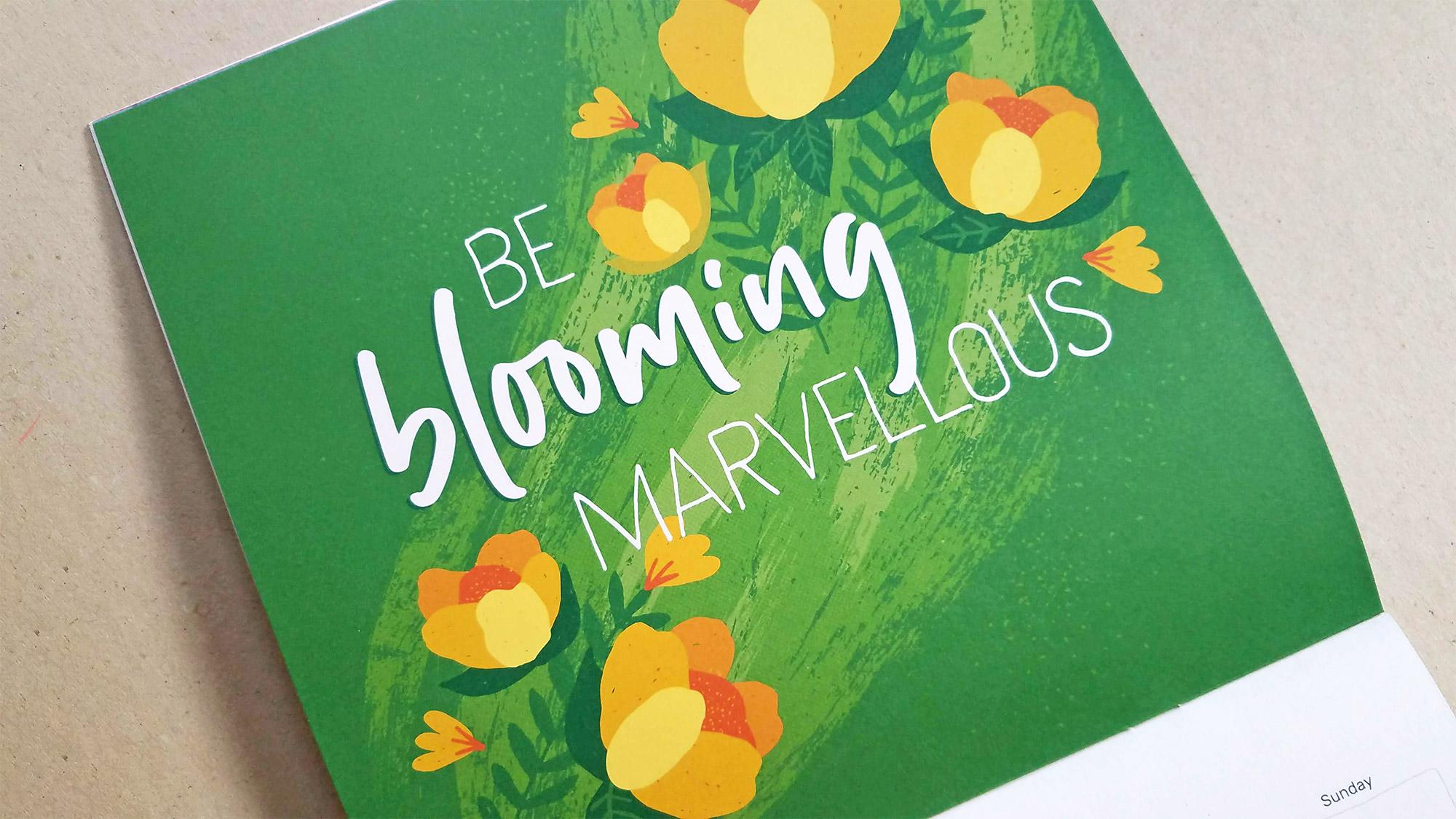 Eden Project Communities Calendar - Be blooming marvelous - April