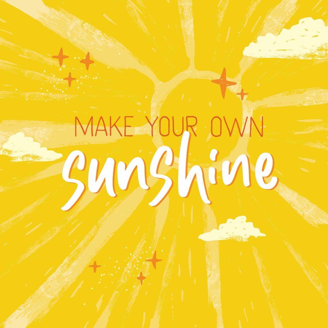 Eden Project 2021 Calendar – Make your own sunshine