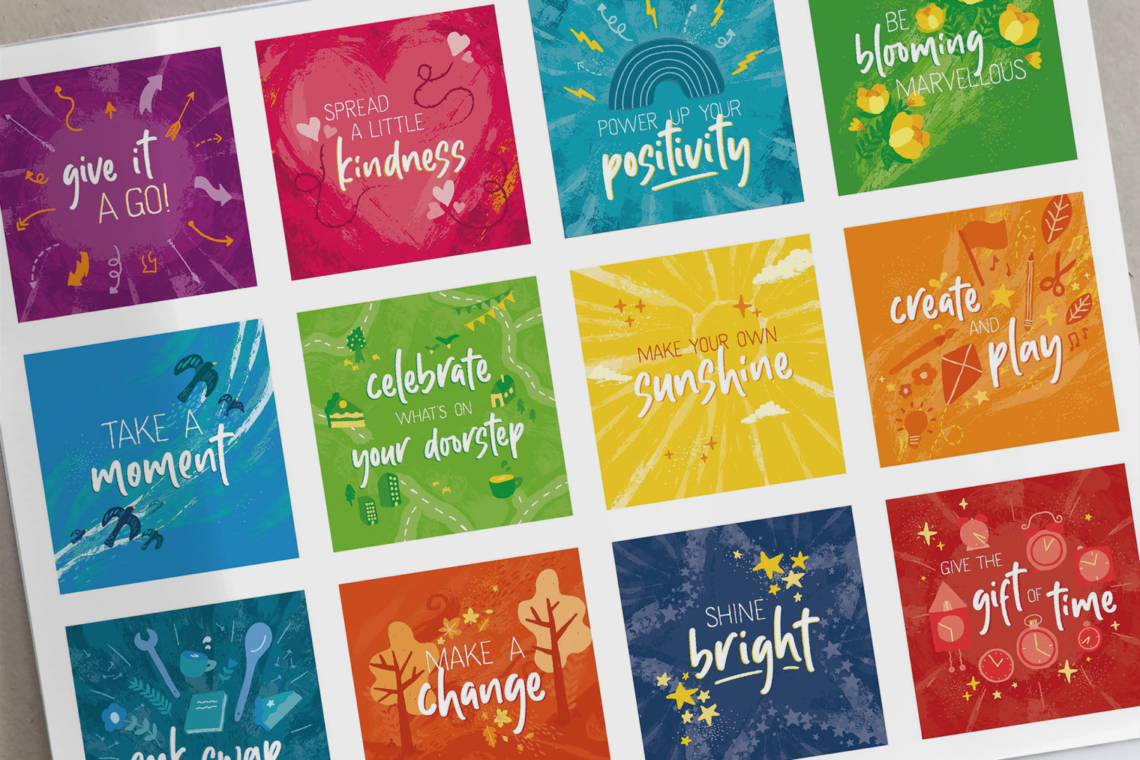 Eden Project Communities Calendar - all artwork